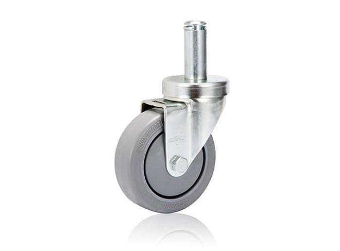 卡簧插杆型-活动式脚轮
